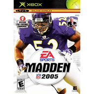 Madden NFL 2005 Xbox For Xbox Original Football With Manual And Case - EE705142