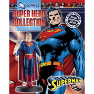 DC Superhero Figurine Collection Issue 2 Superman Toy - EE705234