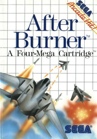 After Burner System For Sega Master Vintage Racing With Manual and - EE705322