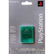 Memory Card Emerald Green For PlayStation 1 PS1 Expansion - EE705384