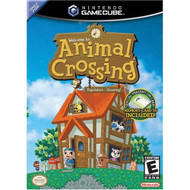 Animal Crossing For GameCube With Manual And Case - EE705546