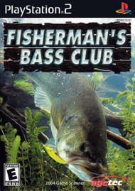 Fishermans Bass Club For PlayStation 2 PS2 With Manual And Case - EE705585