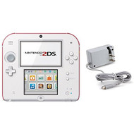 Nintendo 2DS With AC Adapter With New Super Mario Bros 2 - ZZ705806