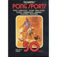 50 Tele-Games: Pong Sports For Atari Vintage - EE705854