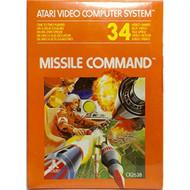 Missile Command For Atari Vintage Arcade - EE705862