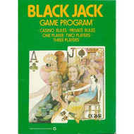 Blackjack For Atari Vintage - EE705873