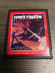Space Cavern Game For Atari Vintage - EE705922