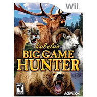 Cabelas Big Game Hunter For Wii Shooter With Manual and Case - EE706191