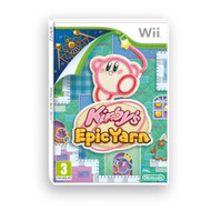 Kirby's Epic Yarn For Wii With Manual And Case - EE706190