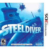 Steel Diver Nintendo For 3DS With Manual And Case - EE706199