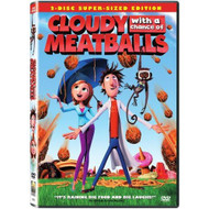 Cloudy With A Chance Of Meatballs Single-Disc Edition On DVD With Bill - XX706442