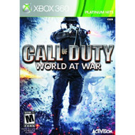 Call Of Duty: World At War Platinum Hits For Xbox 360 COD Shooter - EE706523