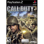 Call Of Duty 3 For PlayStation 2 PS2 COD Shooter With Manual and Case - EE706665