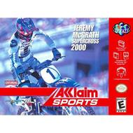 Jeremy Mcgrath Supercross 2000 For N64 Nintendo Racing - EE706936