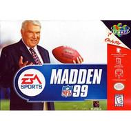 Madden 99 Football For N64 Nintendo - EE706939