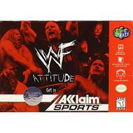 WWF Attitude For N64 Nintendo Wrestling - EE706941