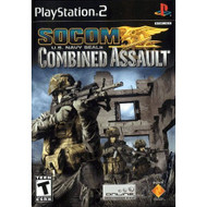 Socom US Navy Seals: Combined Assault For PlayStation 2 PS2 Shooter - EE707058
