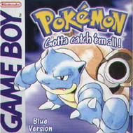 Pokemon Blue Version On Gameboy - EE707145