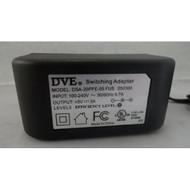 Dve AC Adapter Power Supply 5V 3A Model: DSA-20PFE-05 Fus 050300 Wall - EE707462