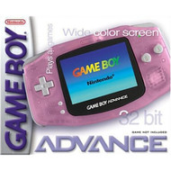 Game Boy Advance Fuchsia Pink GBA 00193 5 gba - EE707531