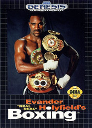Evander Holyfield's Real Deal Boxing For Sega Genesis Vintage - EE708032