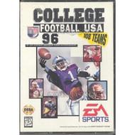 College Football USA 96 For Sega Genesis Vintage - EE708043