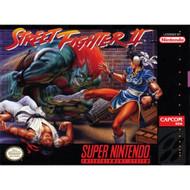 Street Fighter II For Super Nintendo SNES Fighting - EE708047
