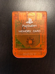 Sony OEM Psone 1MB Memory Card For PlayStation 1 PS1 Expansion DVL612 - EE708082
