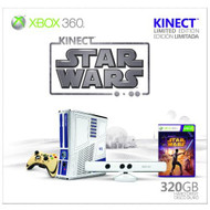 Xbox 360 Limited Edition Kinect Star Wars Bundle Console White 5XK-000 - EE708179