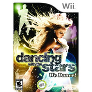 Dancing With The Stars: We Dance! For Wii Music With Manual and Case - EE708595