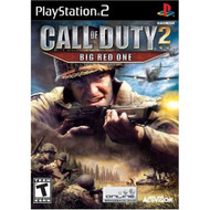 Call Of Duty 2: Big Red One For PlayStation 2 PS2 COD - EE708619