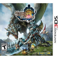 Monster Hunter 3 Ultimate Nintendo For 3DS With Manual and Case - EE708724