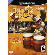 Donkey Konga Includes Bongos For GameCube Dolr Kge dolr kge - EE708757