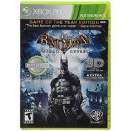 Batman: Arkham Asylum Game Of The Year Edition Platinum Hits For Xbox  - EE708786