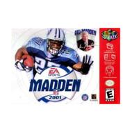 Madden NFL 2001 For N64 Nintendo Football - EE708808