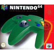 Controller Green For N64 Nintendo OEM Gamepad DHY329 - EE709264