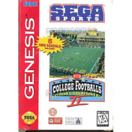 College Football's National Championship II For Sega Genesis Vintage - EE709289