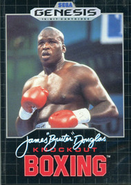 "James Buster"" Douglas Knockout Boxing For Sega Genesis Vintage - EE709285"
