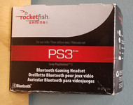 Rocketfish Bluetooth Gaming Headset For PlayStation 3 PS3 Microphone - EE709302