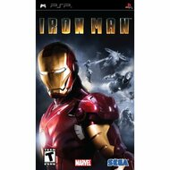 Iron Man Sony For PSP UMD Fighting With Case - EE709353