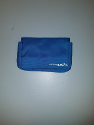 BD&A Blue Pouch For Dsixl With 3 Game Partitions And Stylus And - EE709364