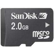SanDisk Microsd 2GB Memory Card SDSDQ-2048-E11M - EE709604