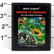 Vintage 1982 Demons To Diamonds For Atari CX2615 - EE709952