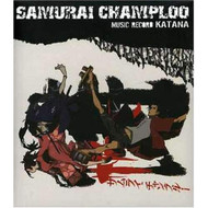 Samurai Champloo: Music Record Katana By Samurai Champloo On Audio CD - EE710096