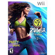 Zumba Fitness 2 For Wii With Manual And Case - EE710464