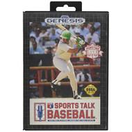Sports Talk Baseball For Sega Genesis Vintage - EE710584