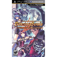 Blazing Souls: Accelate Sony For PSP UMD RPG With Manual and Case - EE710807