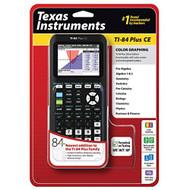 Texas Instruments TI-84 Plus Ce Graphing Calculator Black Handheld 8 - EE710937