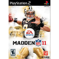 Madden NFL 11 For PlayStation 2 PS2 Football With Manual and Case - EE711191