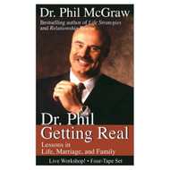 Dr Phil Getting Real By Phil Mcgraw On Audio Cassette - EE711792